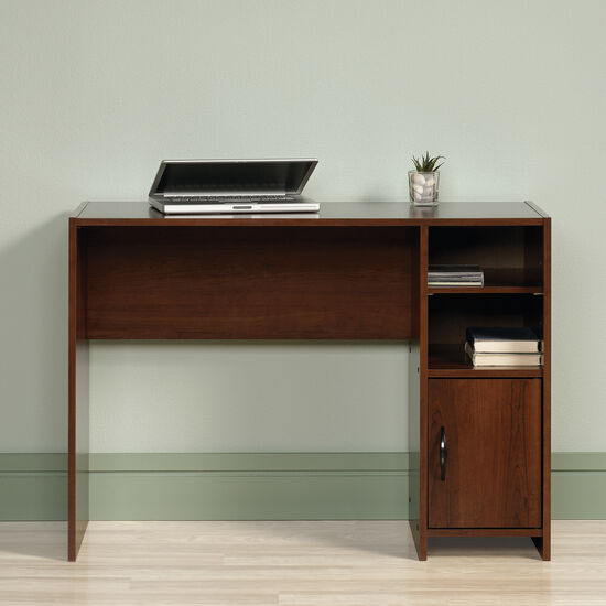 "40.5"" Casual Two-Shelf Desk in Brook Cherry"