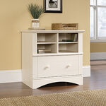 MB Home Hampshire Antiqued White Lateral File Cabinet