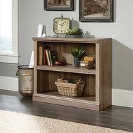 MB Home Office Central Salt Oak 2-Shelf Bookcase