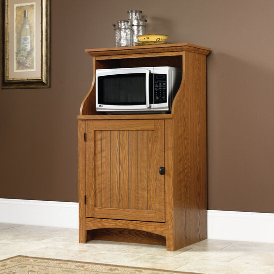 "Transitional 28"" Gourmet Stand in Carolina Oak"