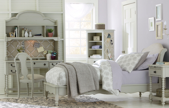 Legacy Inspirations Full Upholstery Platform Bed