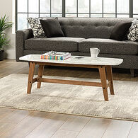 Rectangular Contemporary Coffee Table in Fine Walnut