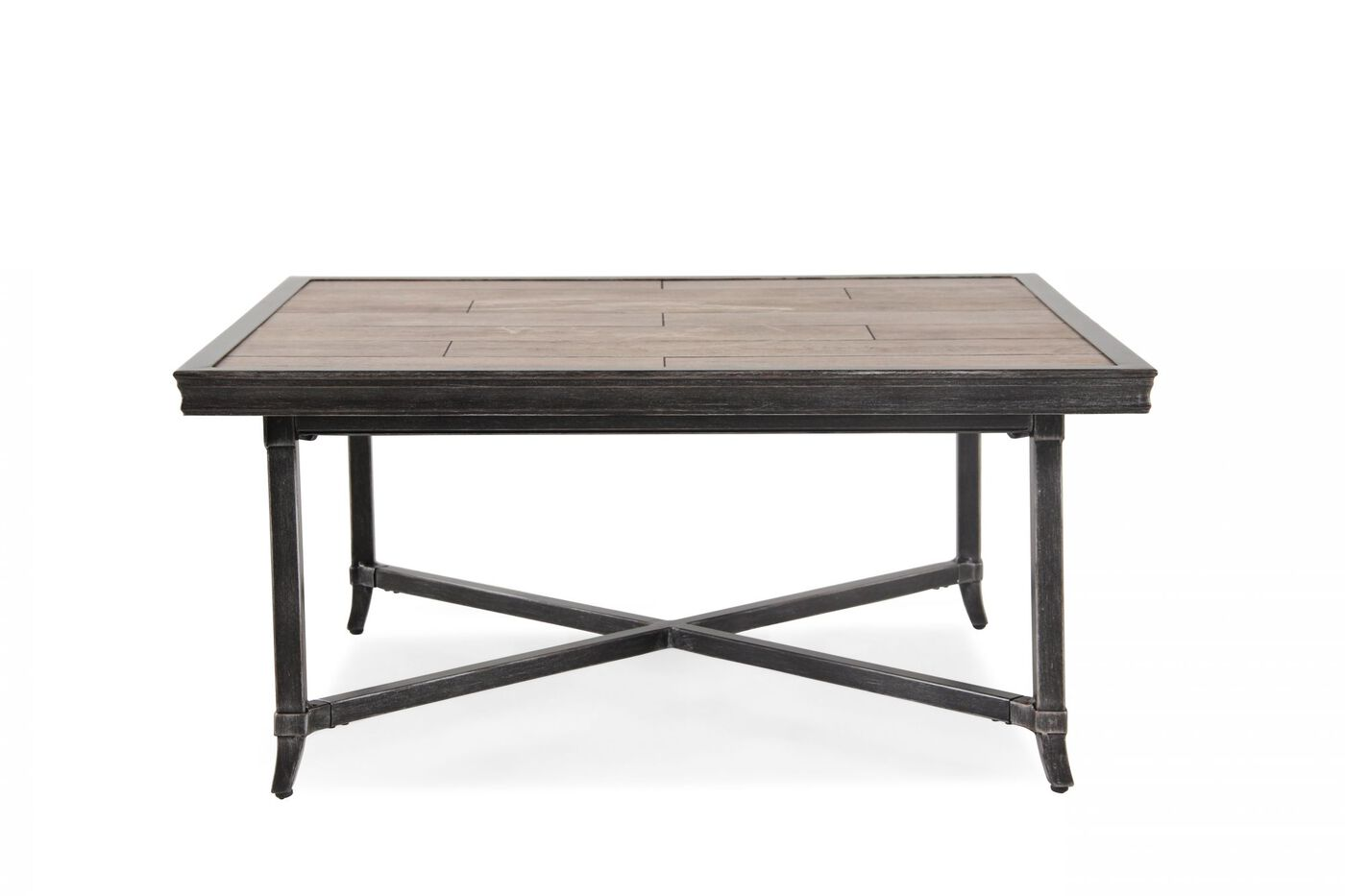 Images Rectangular Aluminum Tail Table Nbsp In Brown