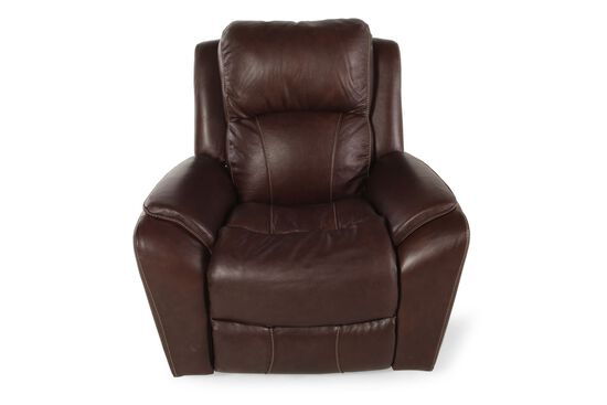 "Contemporary 40"" Rocker Recliner in Cocoa"