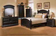 Winners Only Cape Cod Ebony Twin Panel Bed