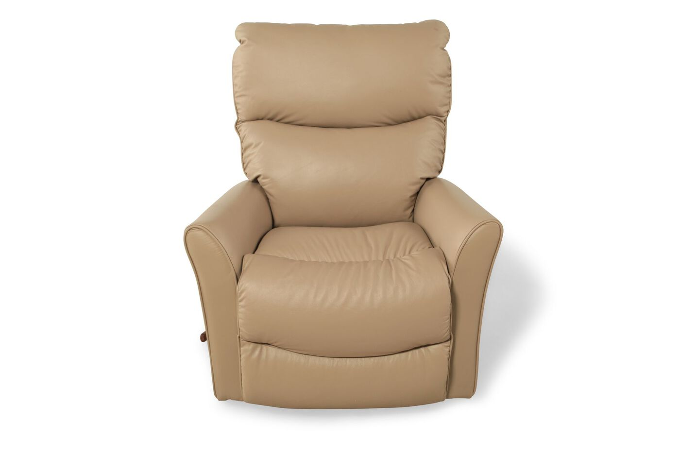 la z boy rowan natural leather recliner mathis brothers furniture