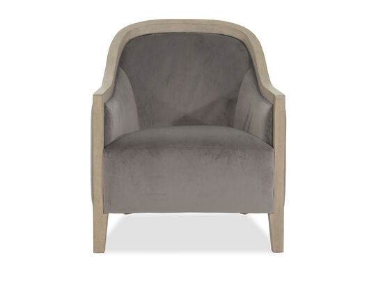 Boulevard Alisa Gray Accent Chair