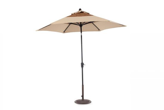 Contemporary Patterned Select Umbrellain Beige