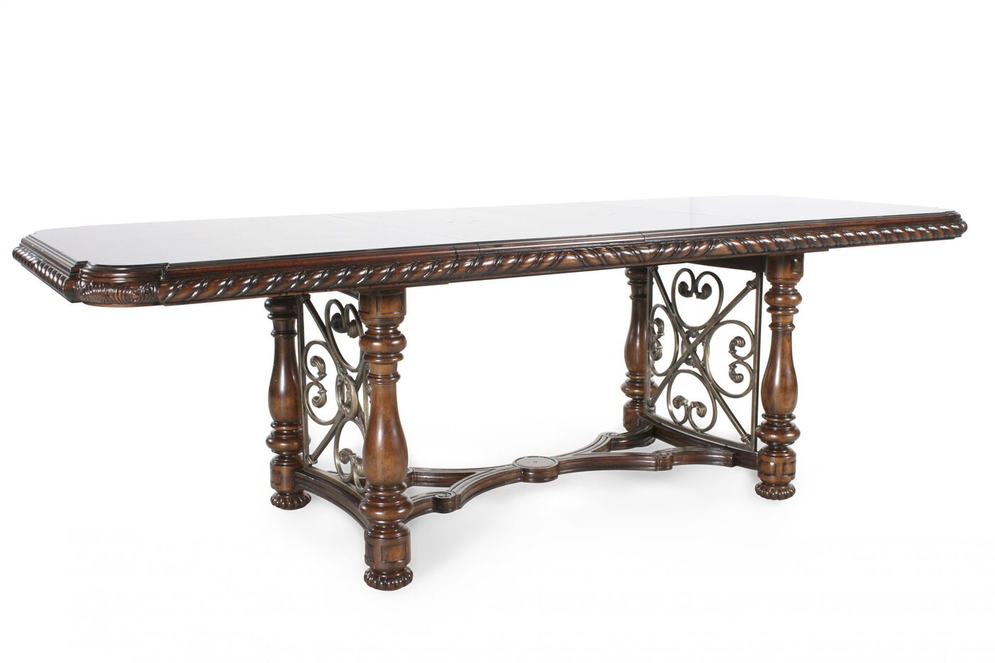 Traditional 130quot Rectangular Dining Table