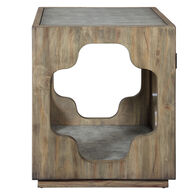 Uttermost Kuba Square Accent Table