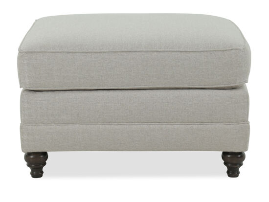 Pillow-Top Ottoman in Cream
