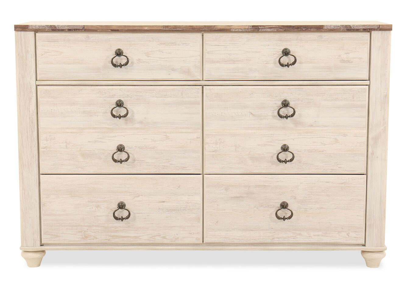 Ashley willowton dresser mathis brothers furniture - Ashley furniture bedroom dressers ...