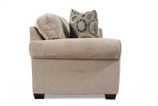 Handcrafted Rolled Arm 72 Quot Queen Sleeper Sofa In Sandstone