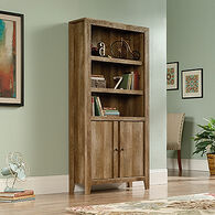 MB Home Brookshire Barn Craftsman Oak Library with Doors