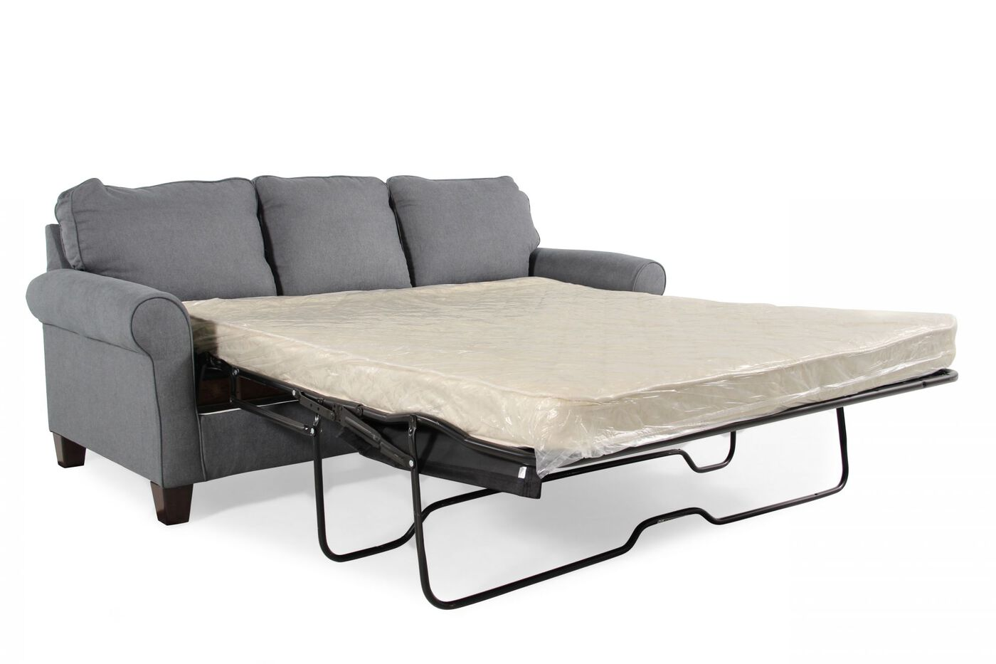 Contemporary Queen Sleeper Sofa in Denim Blue Mathis  : ASH 2710139 1 from www.mathisbrothers.com size 1400 x 933 jpeg 75kB