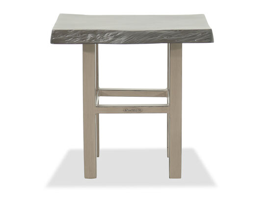 Castelle Roma Brown Side Table