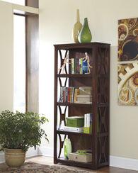 Ashley Devrik Brown Bookcase