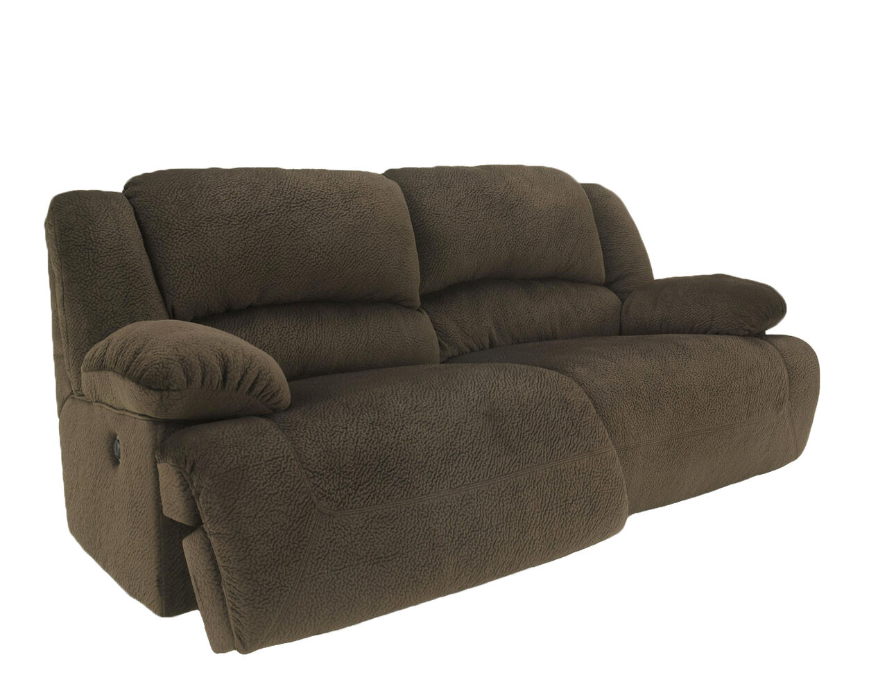 Microfiber 96 Reclining Sofa In Chocolate Mathis Brothers Furniture