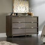 "37"" Traditional Six-Drawer Dresser in Fossil Oak"