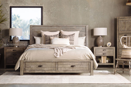 Aspen Radiata King Storage Bed