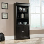 MB Home Manhattan Wind Oak Library with Doors