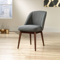 """Traditional 21"""" Accent Chair in Gray"""