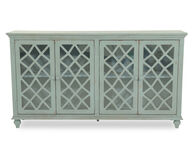 Ashley Teal Large Accent Cabinet