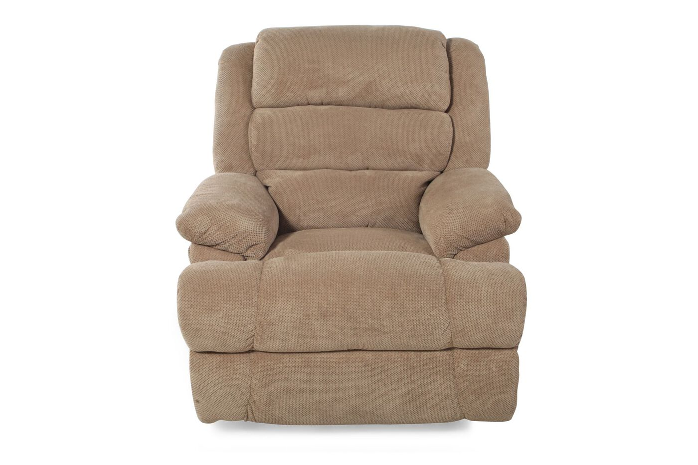 Mathis Brothers Recliners Ashley Skyeslee Mocha Rocker Recliner Mathis Brothers Bernhardt