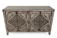 Medallion Doors Traditional Sofa Table in Brown