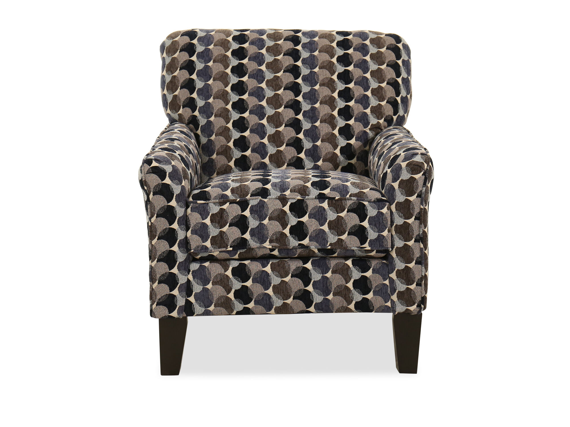 Images 30u0026quot; Bubble Patterned Transitional Accent Chair In Multi  30u0026quot; Bubble Patterned Transitional Accent Chair In Multi