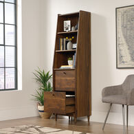 MB Home Fusionville Dark Wood Narrow Bookcase