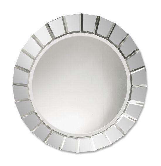 34'' Webbed Round Accent Mirror