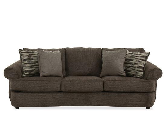 "Casual 100"" Three-Seater Sofa in Gray"