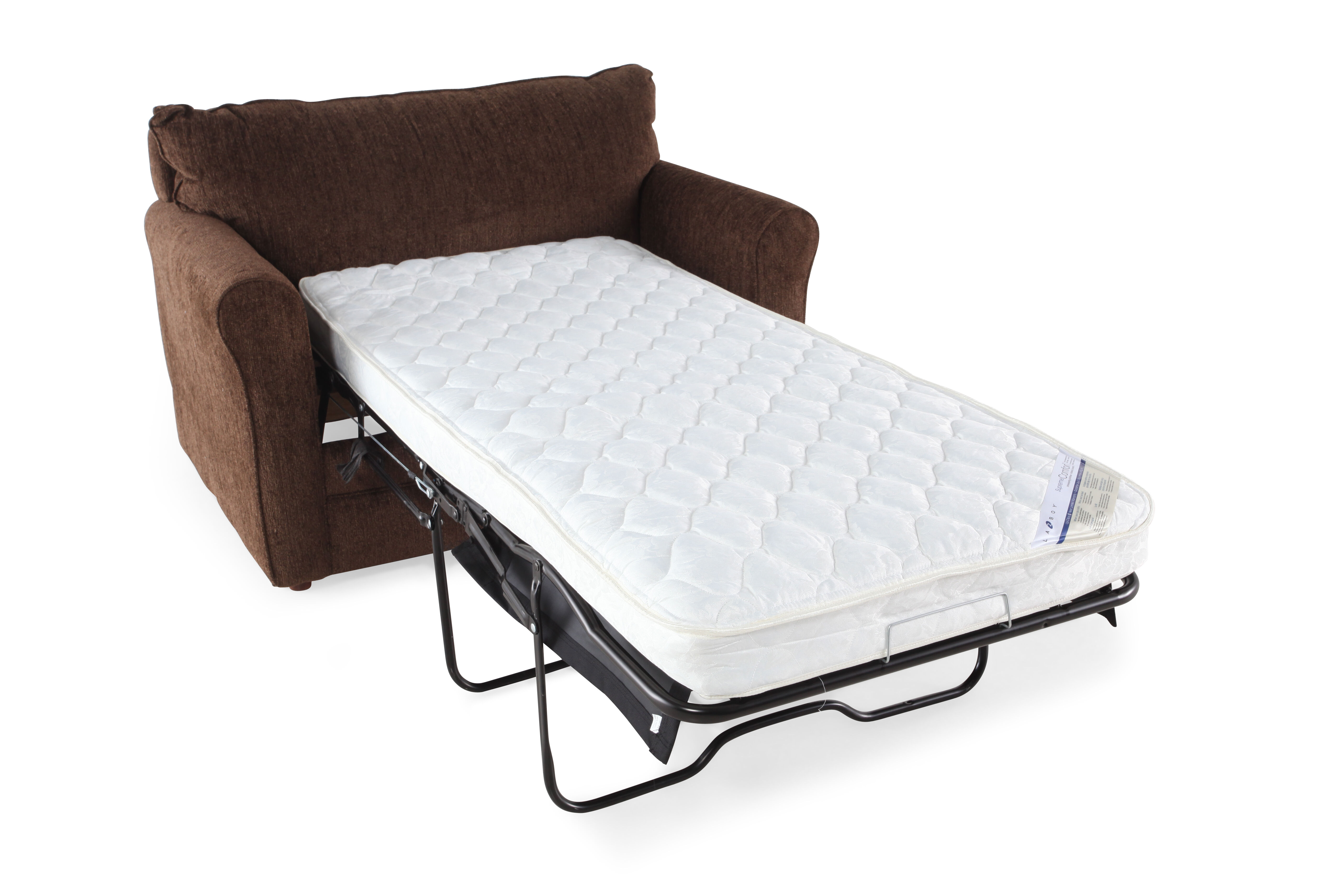 lazboy leah timber twin sleeper