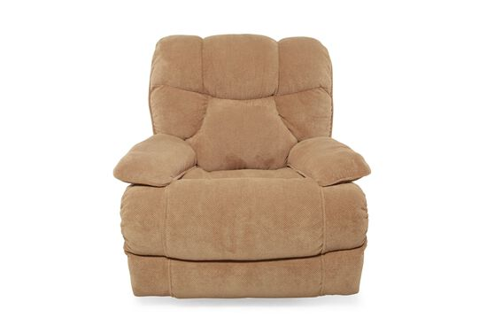 "Traditional 40"" Recliner in Tan"