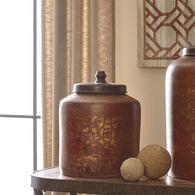 Ashley Odalis Orange/Tan Jar