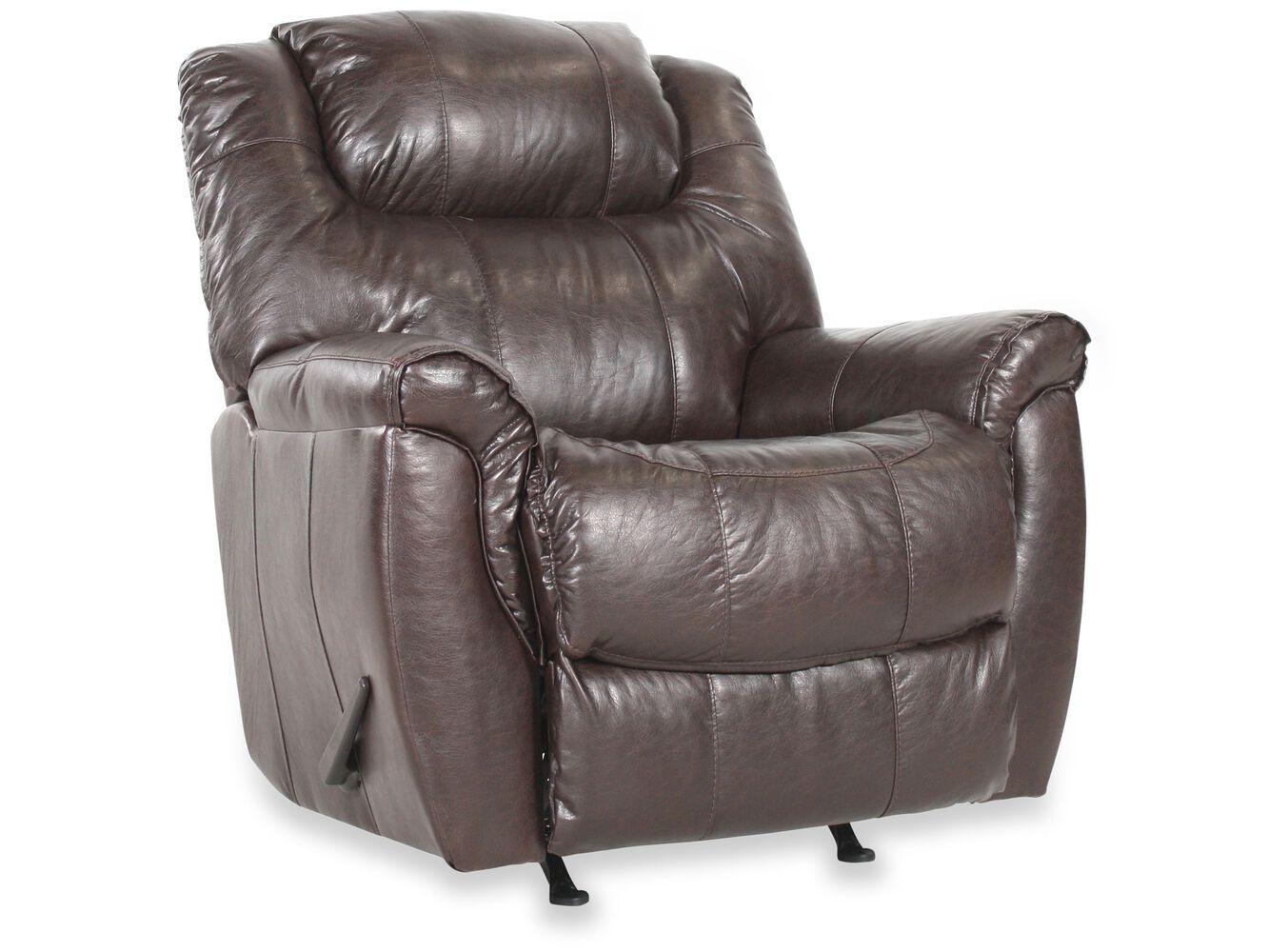 Zero gravity traditional 41 recliner in dark brown - Zero gravity recliner chair for living room ...
