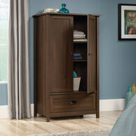MB Home Canton Rum Walnut Armoire