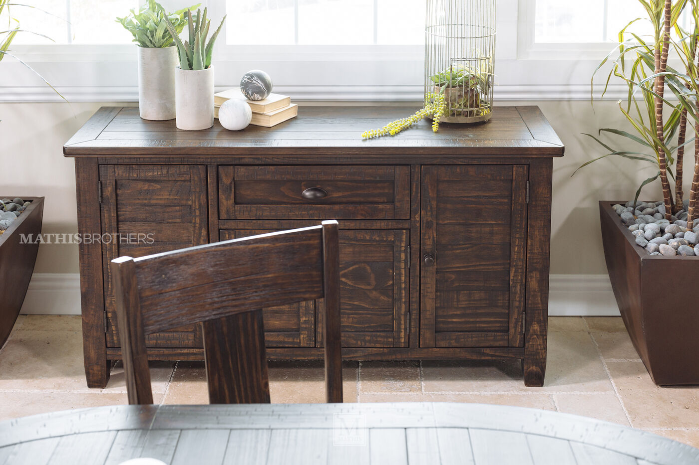 ashley trudell dining room server mathis brothers furniture ashley trudell dining room server