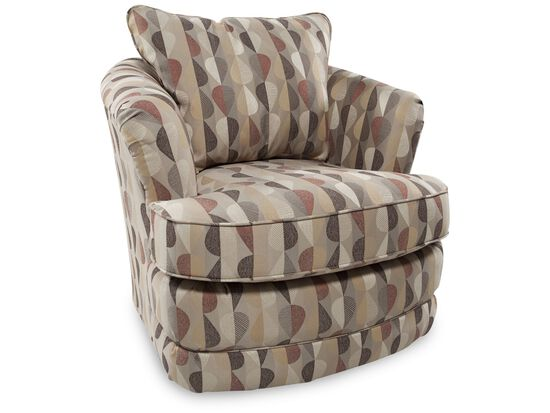 La-Z-Boy Fresco Java Swivel Chair