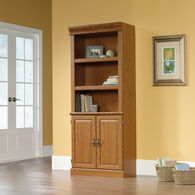 MB Home Presidency Carolina Oak Library with Doors