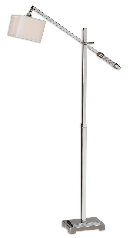 Floor Lamp in Polished Chrome