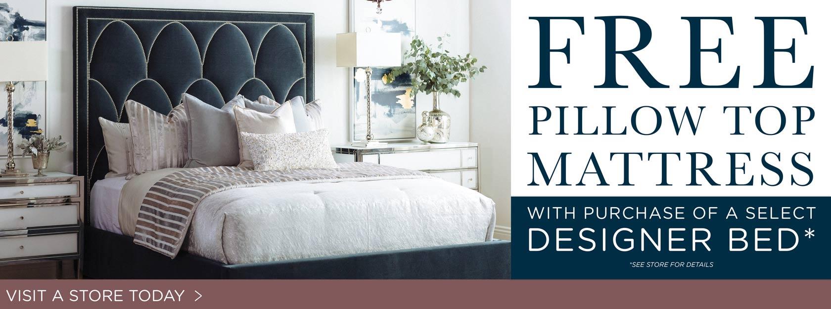 Designer Bed In-Store Promotion