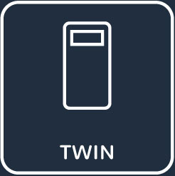 twin inactive