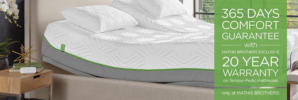 Tempur-Pedic Comfort Guarantee