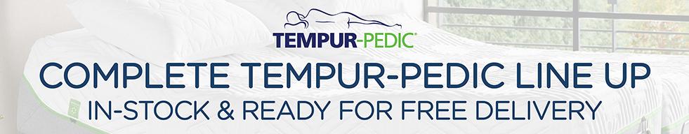 Tempur-Pedic Lineup in-stock