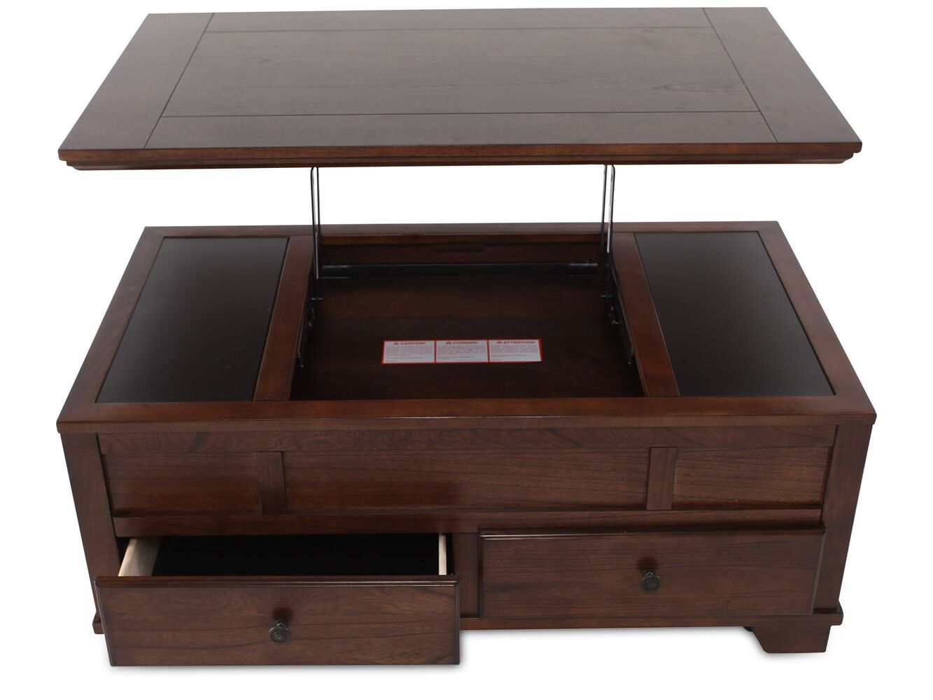 Lift top cocktail table ashley furniture - Ashley Lift Top Cocktail Table