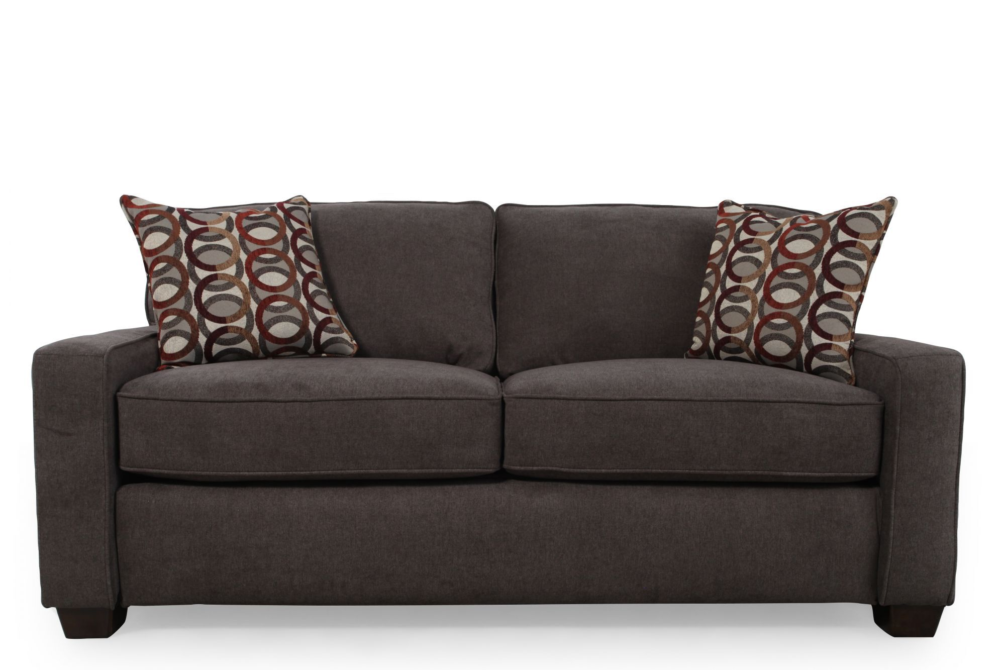 I Rest Casual 82u0026quot; Sleeper Loveseat In ...