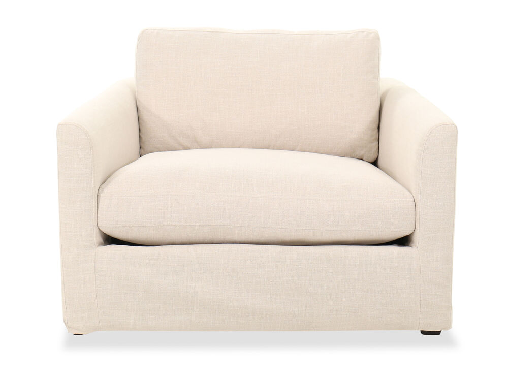 Casual 47'' Club Chair in Linen