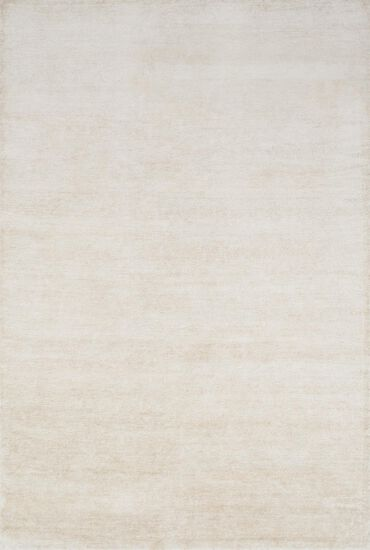 "Contemporary 5'-6""x8'-6"" Rug in Ivory"